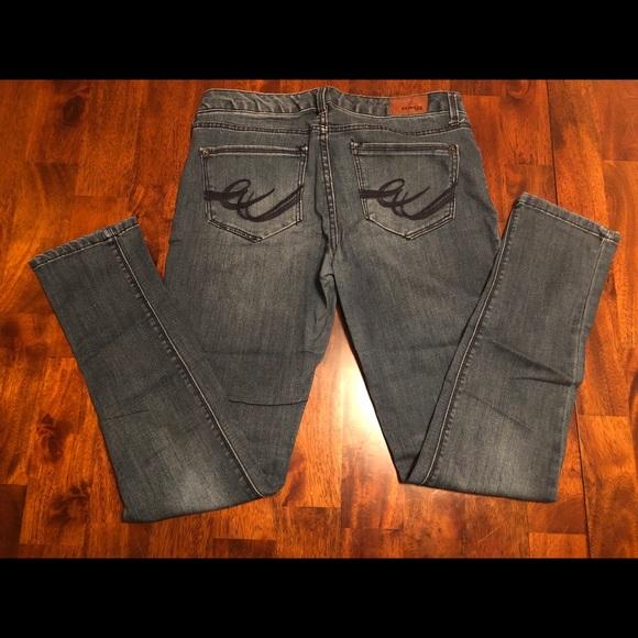 Express Denim - Express Jean Leggings - Size 8 Medium Wash